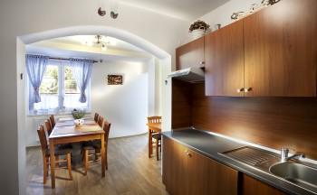 Ubytování Valtice - kuchyňka