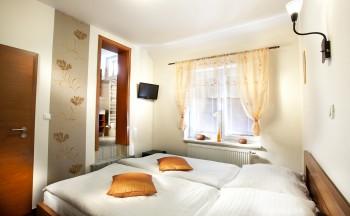 Ubytování Valtice - ložnice
