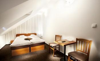Ubytování Valtice - detail pokoje