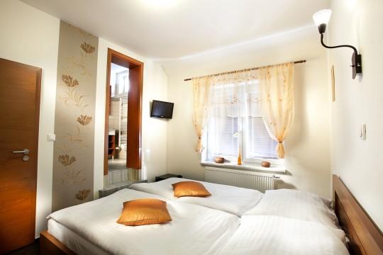 Valtice ubytování v soukromí - dvoulůžkový pokoj