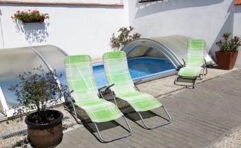 Ubytování Valtice - penzion Réva venkovní bazén