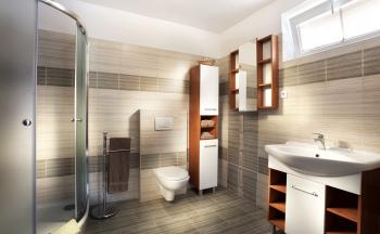 Ubytování Valtice - penzion Réva luxusní koupelna