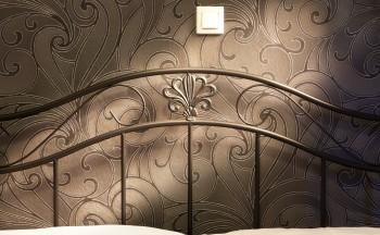 Ubytování Valtice - penzion Réva detail postel