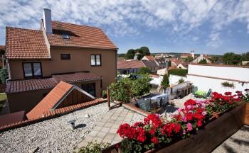 Ubytování Valtice - penzion Réva balkón